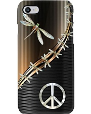 Dragonfly Peace Phone Case tile