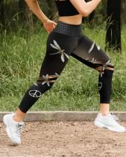 Dragonfly Peace High Waist Leggings aos-high-waist-leggings-lifestyle-14