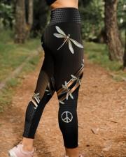 Dragonfly Peace High Waist Leggings aos-high-waist-leggings-lifestyle-21