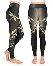 Dragonfly Peace High Waist Leggings front