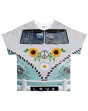 Sunflower Peace Bus All-over T-Shirt thumbnail