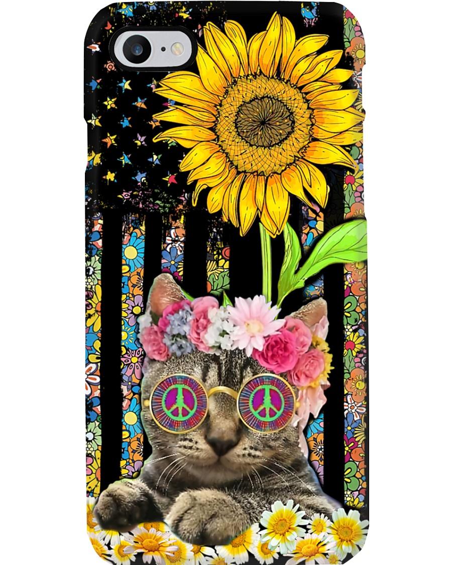 Hippie Cat Phone Case