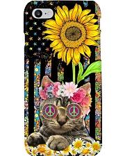 Hippie Cat Phone Case i-phone-7-case