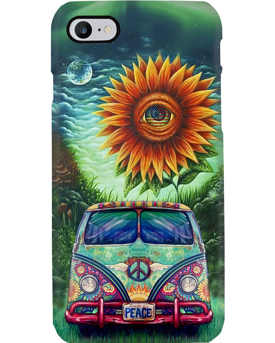 Sunflower Bus Phone Case