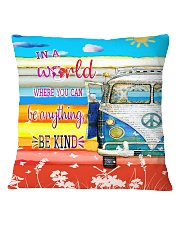 Peace Vw Bus  Square Pillowcase thumbnail