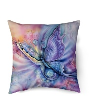 "Butterfly Indoor Pillow - 16"" x 16"" thumbnail"