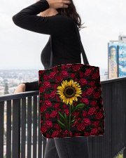Sunflower Soul All-over Tote aos-all-over-tote-lifestyle-front-05