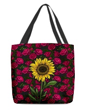 Sunflower Soul All-over Tote back