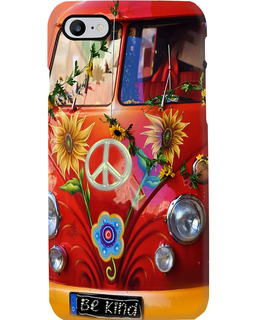 Sunflower Peace Bus Phone Case