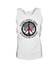 Every little thing gonna be all right Unisex Tank tile