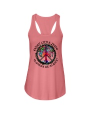 Every little thing gonna be all right Ladies Flowy Tank tile