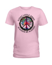 Every little thing gonna be all right Ladies T-Shirt tile