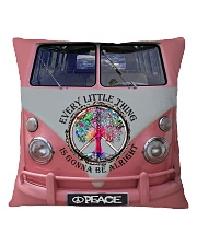 Every little thing gonna be all right Square Pillowcase tile
