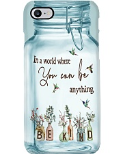 In a world where you can be anything Phone Case i-phone-8-case