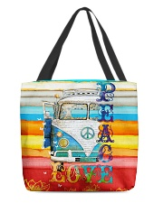 Hippie VW Bug All-over Tote thumbnail