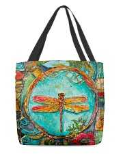 Dragonfly All-over Tote front