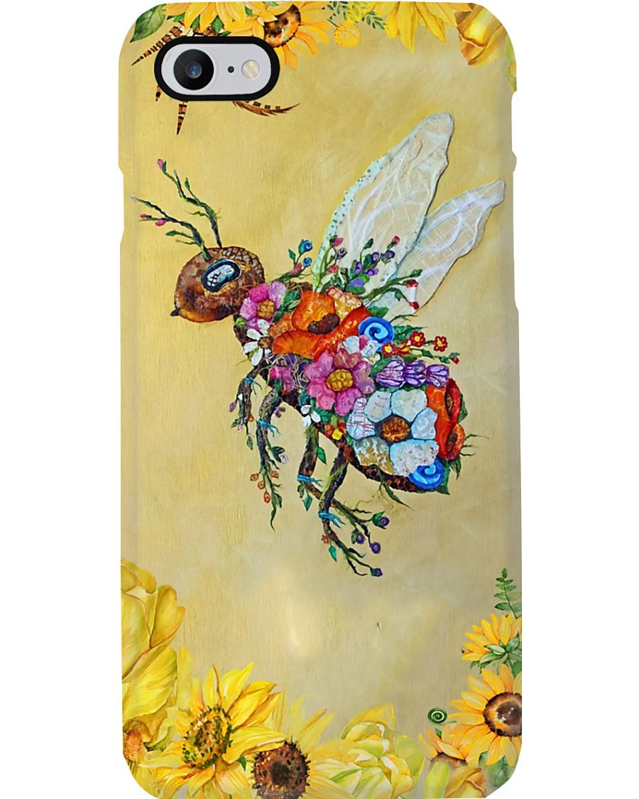 Sunflower Bee Phone Case