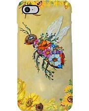 Sunflower Bee Phone Case i-phone-7-case