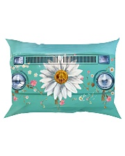 Daisy Vw Bus Rectangular Pillowcase thumbnail