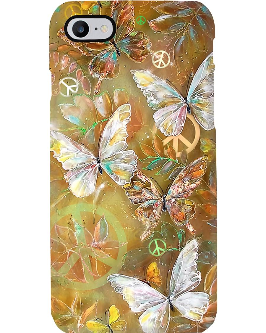Hippie Butterfly Phone Case