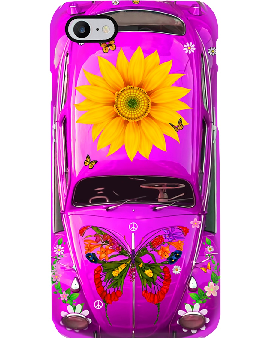 Hippie - Sunflower Phone Case