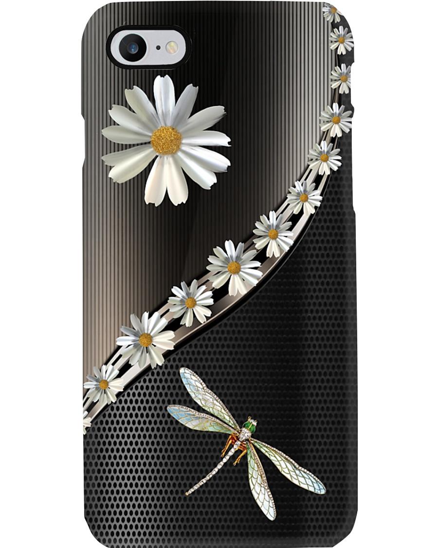 Daisy Dragonfly Phone Case