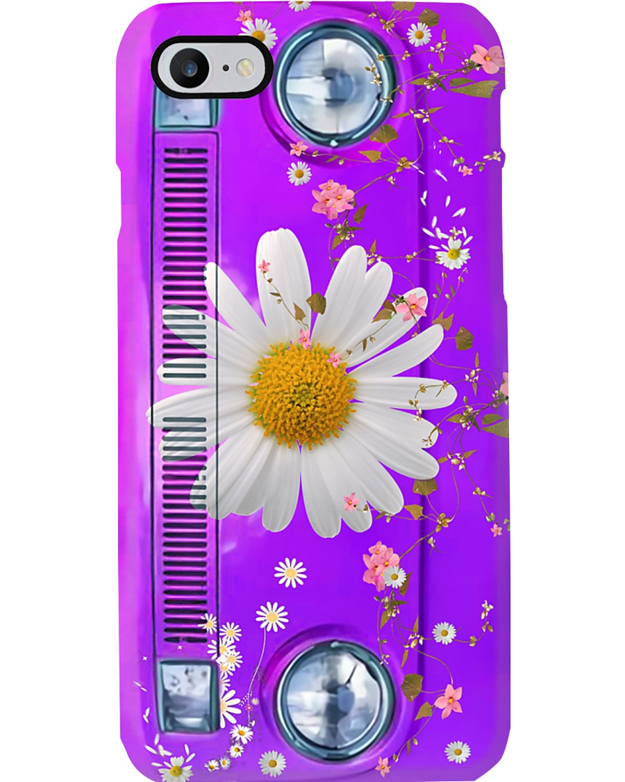 Daisy Vw Bus Phone Case