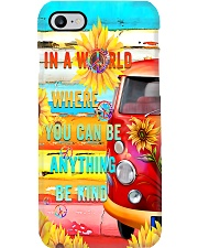 in world where you can be anything be kind Phone Case i-phone-8-case