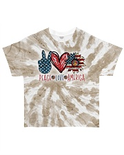 Peace Love America All-over T-Shirt front