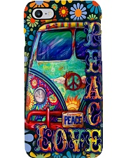 Peace Love Hippie Phone Case i-phone-8-case