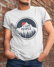 I Hate People Classic T-Shirt apparel-classic-tshirt-lifestyle-26