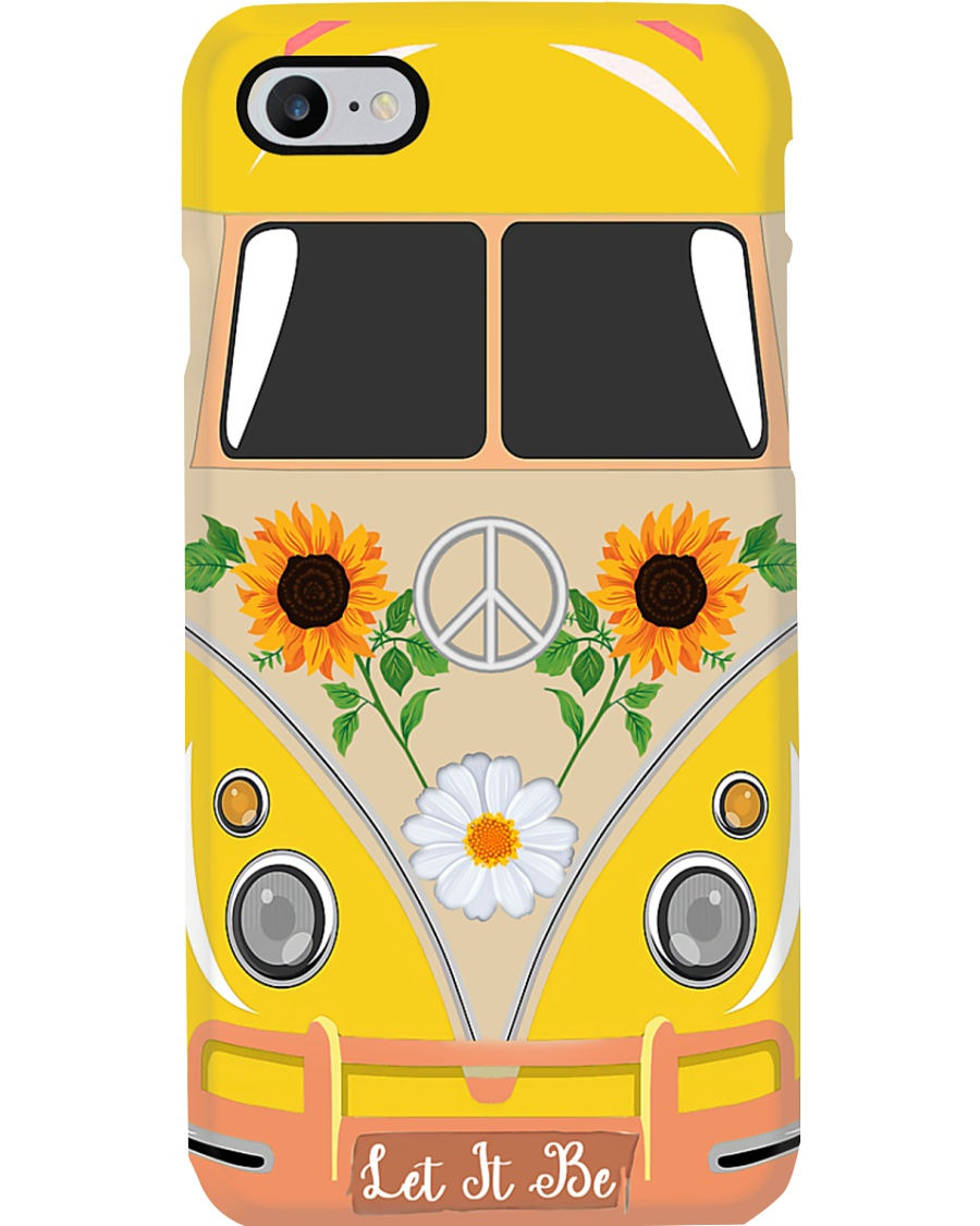 Let It Be - Sunflower Phone Case