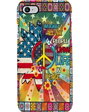 Living Life In Peace Phone Case i-phone-7-case