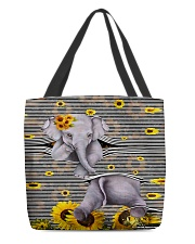 Elephant Sunflower All-over Tote thumbnail