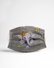 Elephant Sunflower Cloth face mask aos-face-mask-lifestyle-22