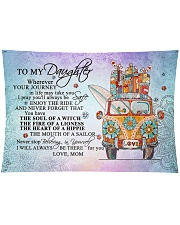 """To My Daughter Wall Tapestry - 36"""" x 26"""" front"""