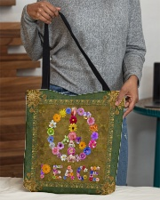 Flower Peace All-over Tote aos-all-over-tote-lifestyle-front-10