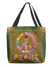Flower Peace All-over Tote front