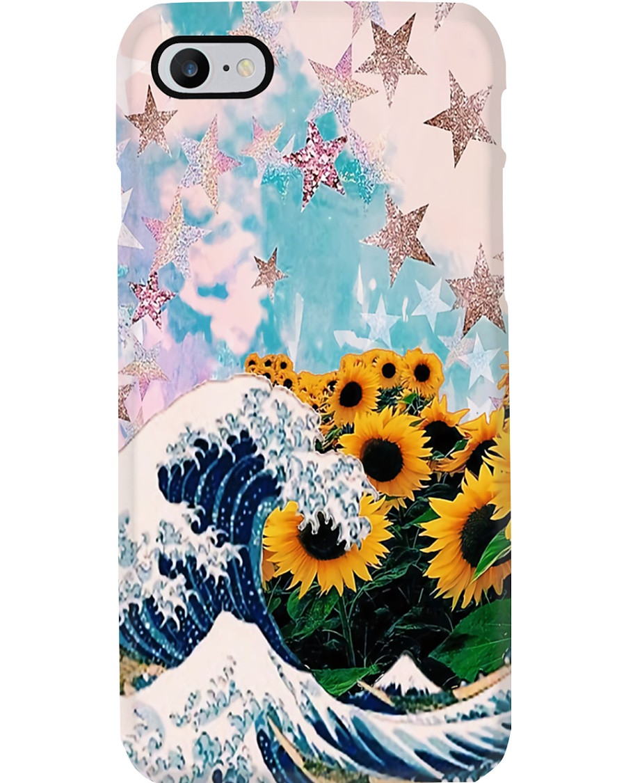 Hippie Sunflower Phone Case