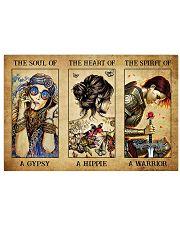 Gypsy Hippie Warrior 17x11 Poster front