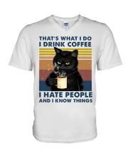 CAT 6 V-Neck T-Shirt thumbnail