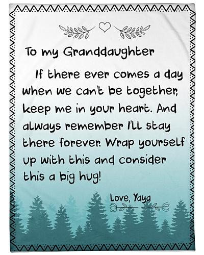 TO MY GRANDDAUGHTER-YAYA