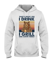 Camping Thats What I Do 1 Hooded Sweatshirt front