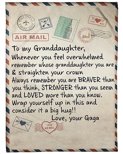 the letter- GAGA