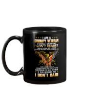 I Am A Grumpy Veteran I Don't Care cr Mug back