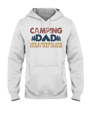 Camping Dad Hooded Sweatshirt front