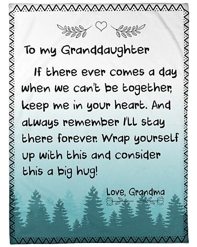 TO MY GRANDDAUGHTER-GRANDMA