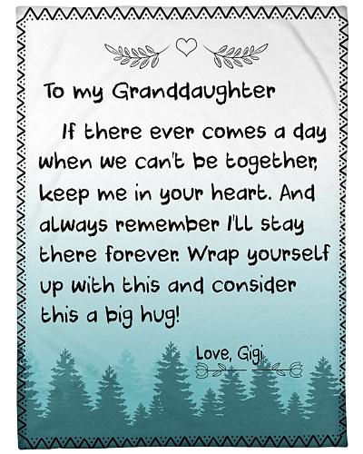 TO MY GRANDDAUGHTER-GIGI