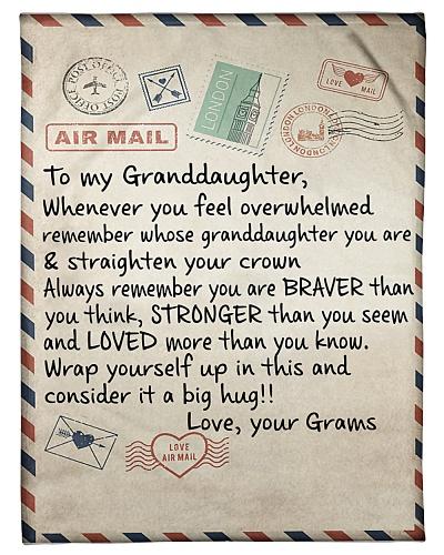 the letter- GRAMS