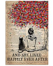 Cat And She Lived Happily Ever After Vertical 16x24 Poster front